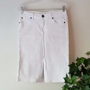 KUT From The Kloth Denim Mid-Rise Bermuda Shorts;4